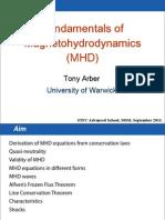 Fundamentals of Magnetohydrodynamics (MHD)