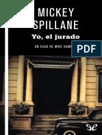 Yo, El Jurado - Mickey Spillane