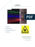 Laser Proiect Fizica Optica