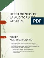9.- Herramientas de La Audioria de Gestión