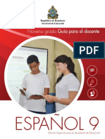 Español 9 Grado-- Honduras