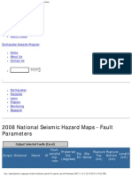 2008 National Seismic Hazard Map