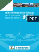 12) Libro Establecimiento Reservas Comunales