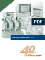 Klemsan Automation Catalogue 2014