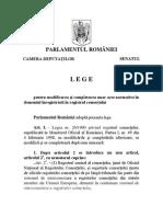 Noua lege de intregistrare a firmelor la ONRC