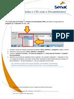 Aula 01 - Texto, Listas, Tabelas e CSS Com o Dreamweaver