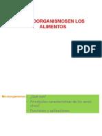 Microorganismos y Alimentos 2015