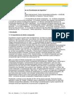 Artigo - Salomão Barbosa - Relações Internacionais Na Constituição Argentina