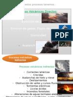 procesos volcanicos
