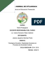 Paradigma Educativo Realidades Escolares