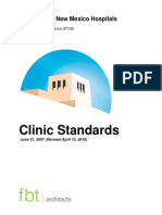 UNMH Clinic Standards Revised