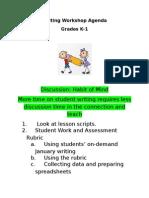 1-15-15writing workshop agenda k-1