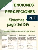 RETENCIONES PERCEPCIONES IGV