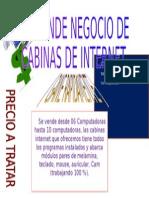 se vende CABINAS INTERNET - Lima