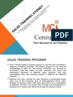 Sales Training Sydney