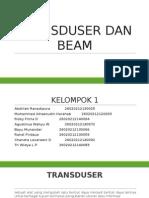 Transduser Dan Beam
