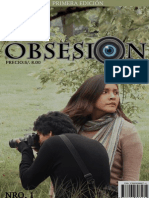 """Foto historieta """"Obsesión"""""""