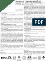 Convocatoria de Ensayo Revista Zocalo