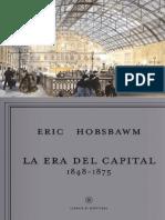 Hobsbawm Eric - La Era Del Capital 1848 - 1875