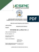 Informe_1 MAQUINAS TRANSFORMADOR