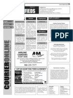 Claremont COURIER Classifieds 6-19-15