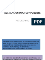 Destilacion Multicomponente Fug