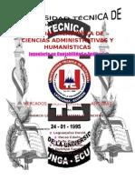 Marco Legal Del Sistema Financiero Ecuatoriano