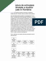 Procedura de echivalare ...romanii din strainatate.pdf