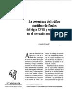 La coyuntura del tráfico marítimo de finales del siglo XVIII y su impacto en el mercado novohispano