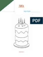 Torta za obojiti