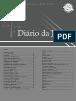 Diário Da Justiça Eletrônico - Data Da Veiculação - 16-10-2008