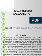 ARQUITECTURA PAISAJISTA