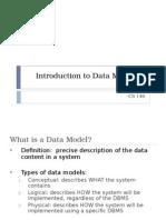 Data Modeling 1