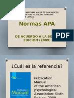 Normas APA Novedades 2009