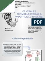 Centrales Termoelectricas. Ciclo Rankine