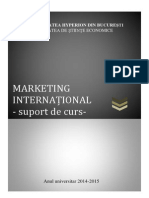Suport Curs Marketing International
