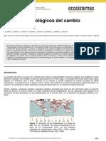 Efectos Biològicos Del Cambio Climàtico