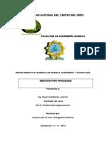 Procesos operativos
