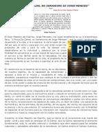 """(2) """"A FORÇA DA CALMA, NO XAMANISMO DE JORGE MENEZES"""""""