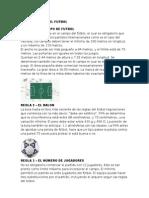 17 reglas del futbol