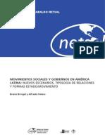 Breno Bringel-Movimientos Sociales y Gobiernos en AL