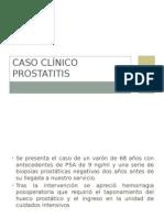 Caso Clinico Prostatitis