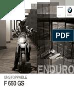 41948421 BMW F650GS Catalogue