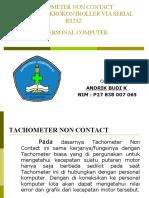Tachometer Non Contact