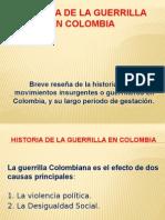 HISTORIA DE LA GUERRILLA EN COLOMBIA.pptx