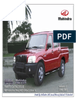 Mahindra Scorpio Parts Manual PIK UP 2.5 CRDe