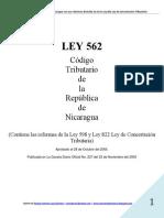 00 Ley 562 Codigo Tributario (con reformas de Ley 822 y anteriores) (www.consultasdeinteres.blogspot.com).pdf