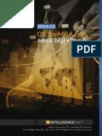 2015 Topmba.com Jobs Salary Trends Report v1