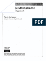 Knowledge Management (Jashapara)