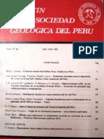 SOBRE LA FAUNA DE MOLUSCOS DEL TERCIARIO SUPERIOR DEL PERÚ